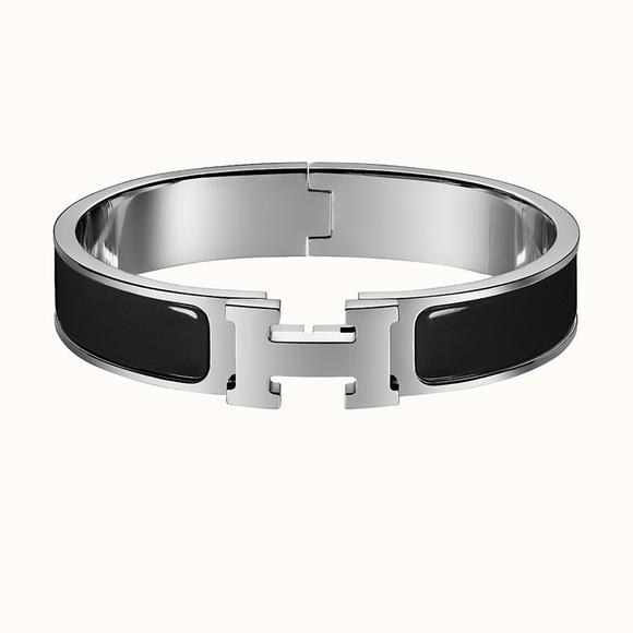 Hermes H clic bracelet